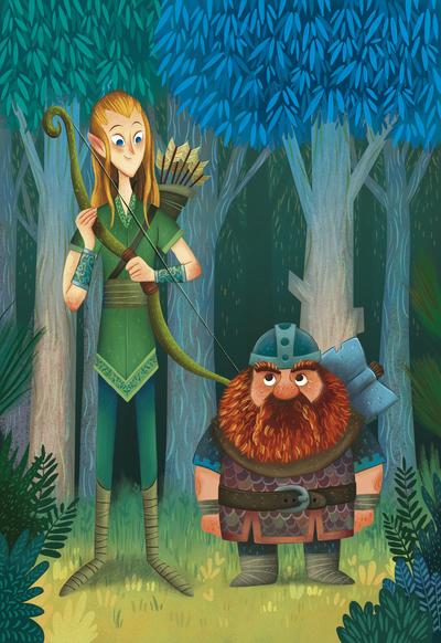 elf-and-dwarf