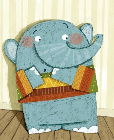 elephant-scared