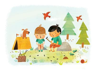 kids-exploring-bugs