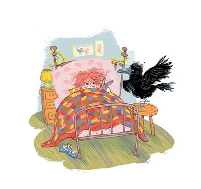 conversationswithroko-kidlitart-philosophy-crow-curiosity-bedtimestories-jpg