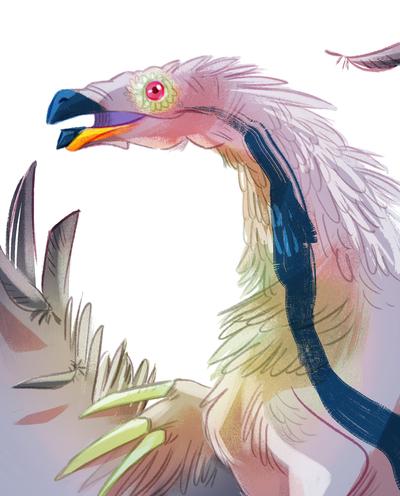 06-portrait-dinosaur-head-avatar-pidgeon-feathers-purple-jpg