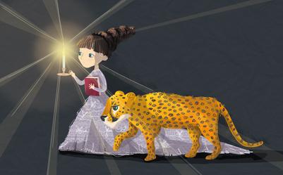 new-girl-and-cheetah-jpg