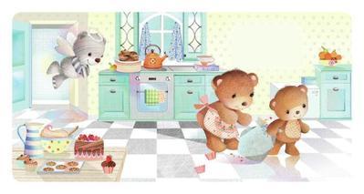 bears-in-kitchen