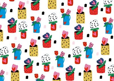 flower-pot-gift-wrap
