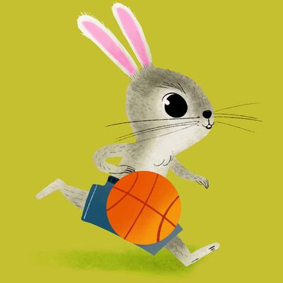 claudio-cerri-rabbit-play-basketball-jpg-1
