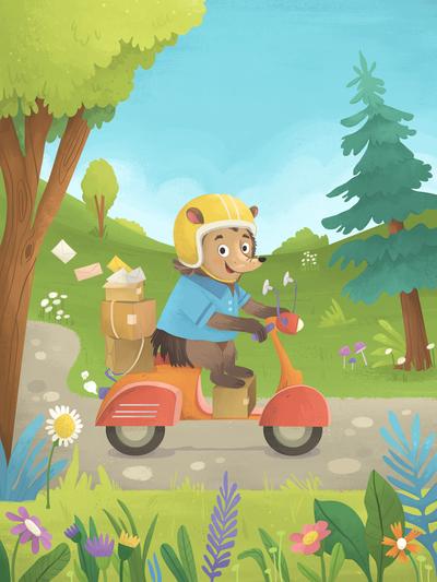 delivery-hedgehog