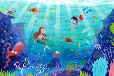 underwater-scene-mermaid-octopus-turtle-jpg
