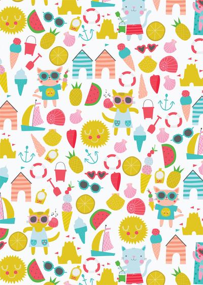 ap-cat-character-childrens-juvenile-holiday-icecream-beach-pattern-01-jpg