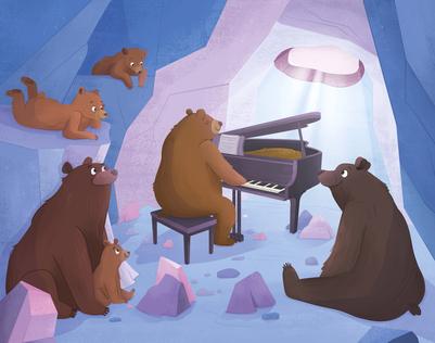 piano-bears