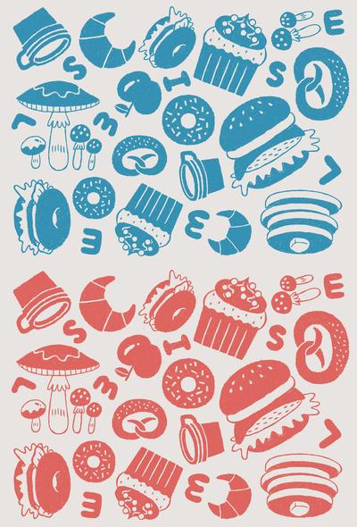 textile-pattern-foods