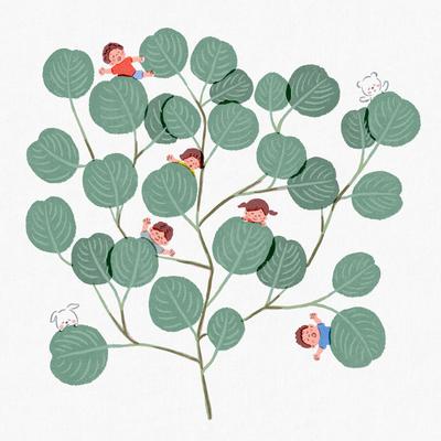 leaf-blanket