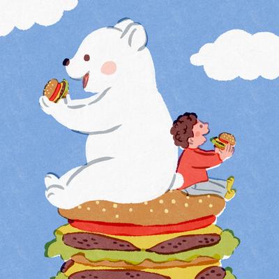 hamburger-hamburger