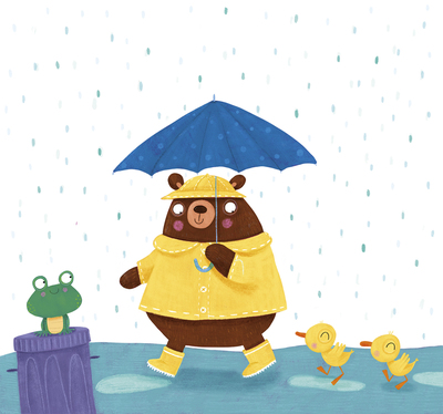 rain-bear-frog-duck-jpg